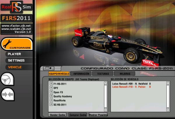 F1RS2011,GP2,F3 Mod for rFactor