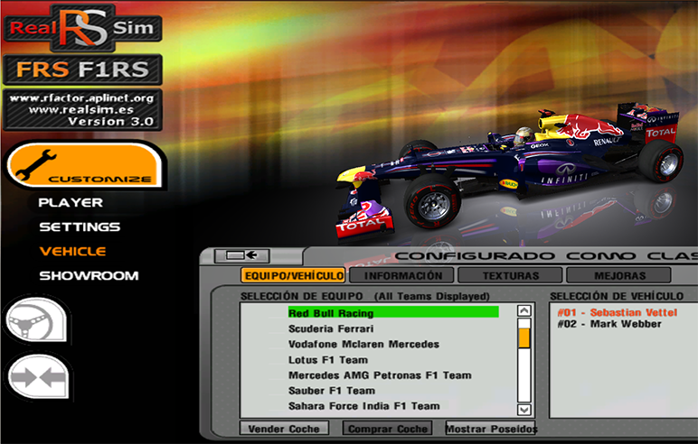 F1RS2013,GP2,F3 Mod for rFactor - oficial download